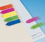Arrow Sticky Note Flags from Heads Up Now