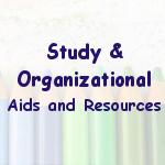 Study & Organizational Aids